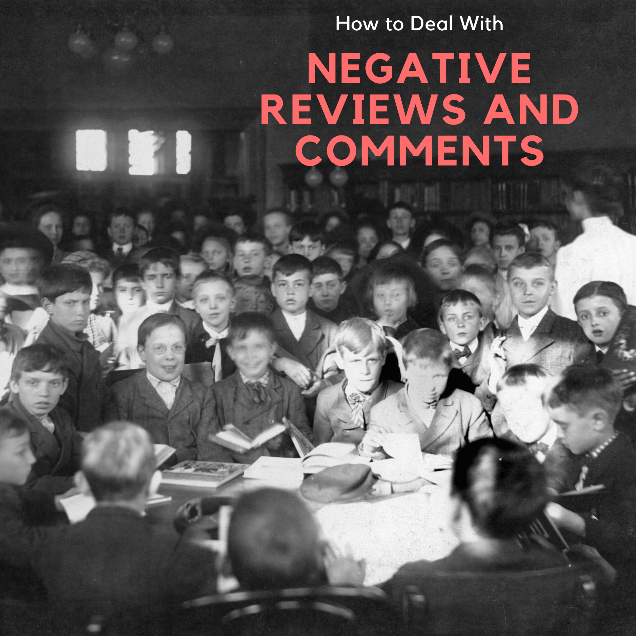 It's Not Personal: How to Deal with Negative Comments and Bad Online Reviews of Your Library